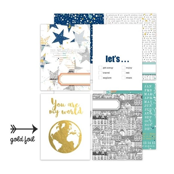 Pretty Little Studio 3 x 4 Pocket Cards Let Go - Scrap Of Your Life