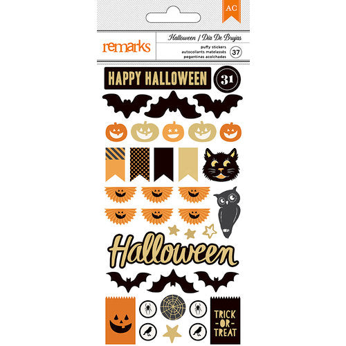 American Crafts Halloween Puffy Stickers - Scrap Of Your Life