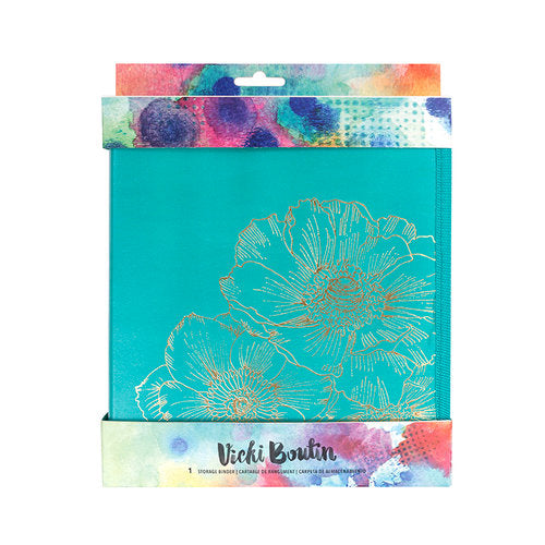 American Crafts - Vicki Boutin Mixed Media - Storage Binder - Scrap Of Your Life