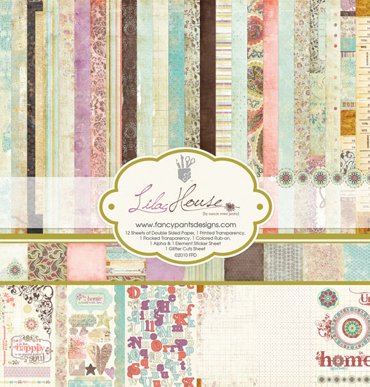 Fancy Pants 12 x 12 Collection Kit Lilac House