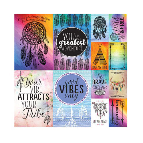 Reminisce - Dreamcatcher Collection - 12 x 12 Cardstock Stickers - Poster - Scrap Of Your Life