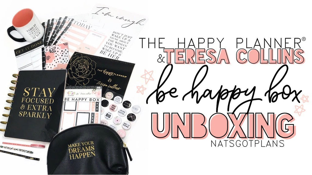 Teresa Collins Be Happy Box Planner Box - Scrap Of Your Life