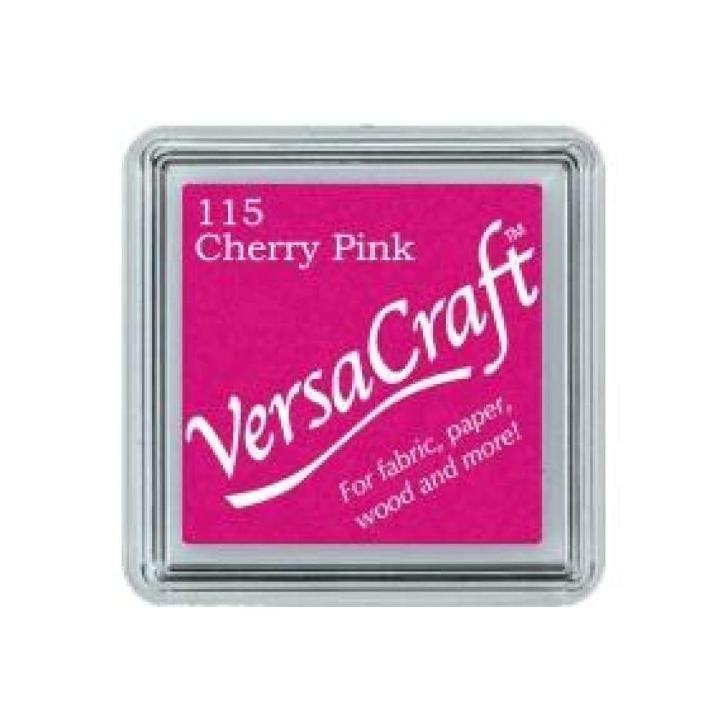 Versa Craft Mini Ink Pad - Cherry Pink - Scrap Of Your Life