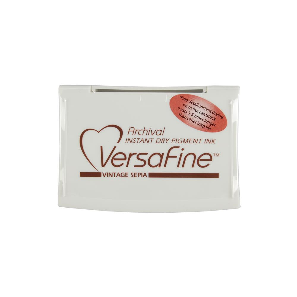 VersaFine Pigment Ink Pad - Vintage Sepia - Scrap Of Your Life