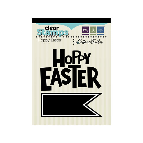 We R Memory Keepers Acrylic Stamp Hoppy Easter - Scrap Of Your Life