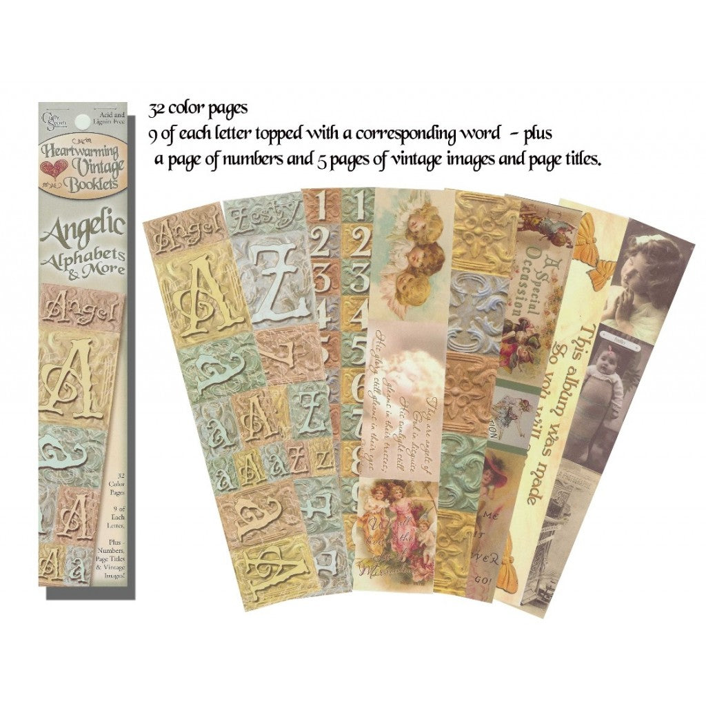 Crafty Secrets - Angelic Alphabets & More - Scrap Of Your Life