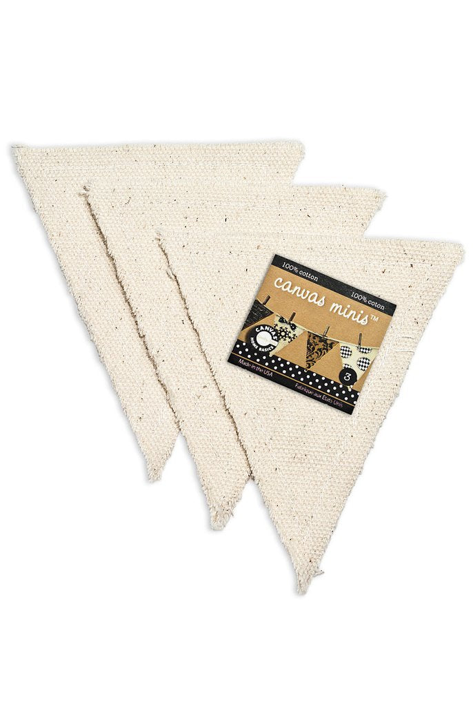 Canvas Corp Canvas Mini Shapes - Triangle (3 pieces)
