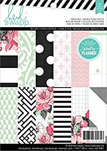 Heidi Swapp-Hello Beautiful Embellishments Paper Pad - Scrap Of Your Life