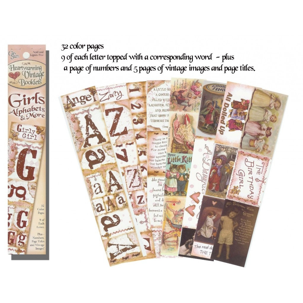 Craft Secrets - Girls Alphabets & More - Scrap Of Your Life
