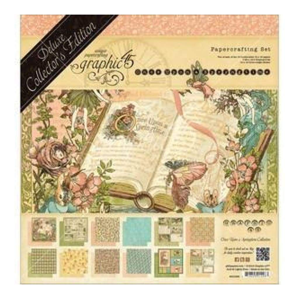 Graphic 45 - Once Upon a Springtime - Collection Pad