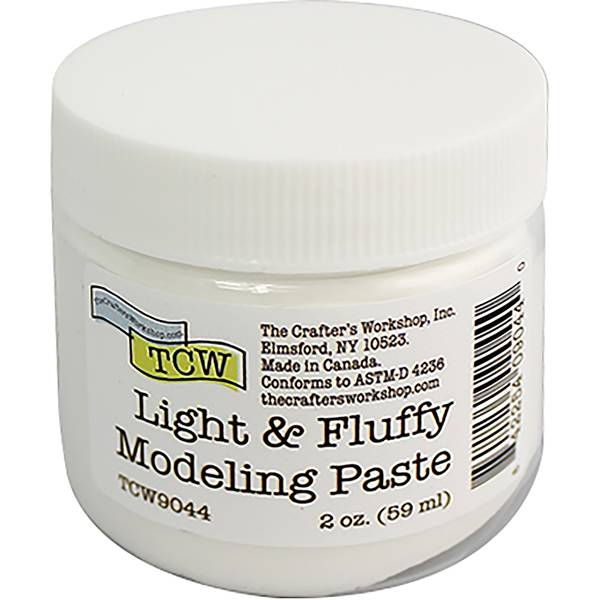 The Crafter's Workshop  Modelling Paste 2oz - Scrap Of Your Life