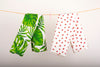Organic Cotton Strawberry Hand Towel, Kitchen Dish Towel