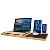 Bamboo Laptop Lap Desk For Laptop Tablet ipad Cell phone