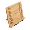 Premium Bamboo Book Stand Recipe Holder Tablet Stand