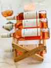 Premium Bamboo Countertop Wine Rack | Tabletop Display