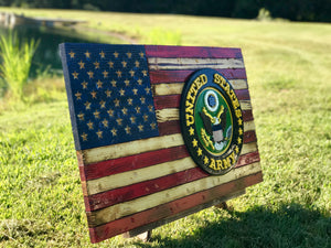 American Rustic with Custom Patch or Insignia