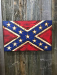 """Rustic"" Confederate Battle Flag"