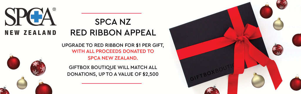 GIFTBOX BOUTIQUE - SPCA RED RIBBON APPEAL 2019 BANNER
