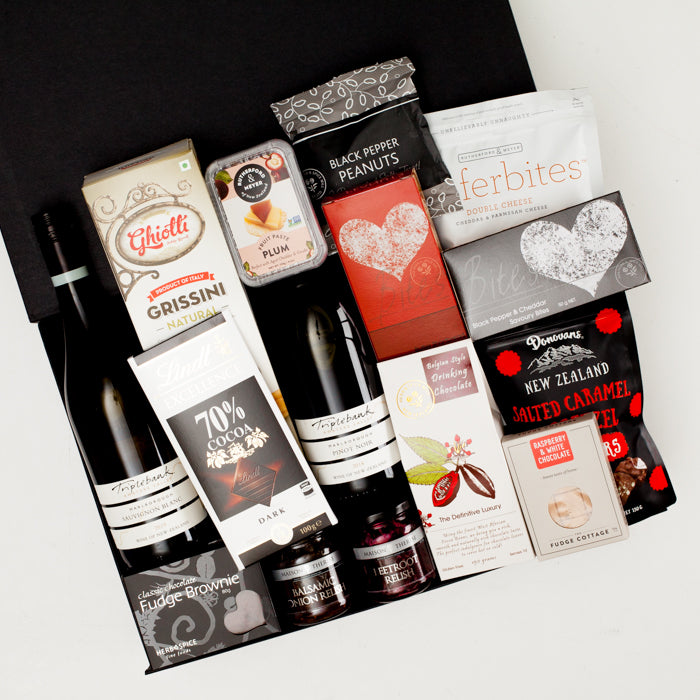 Wine & Snacks Thinking Of You Gift Hamper