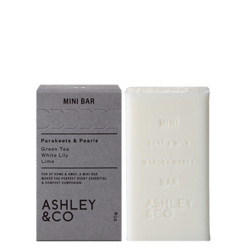 Ashley & Co - Mini Bar – Parakeets & Pearls 90g