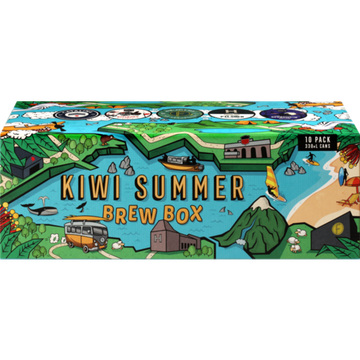 Kiwi Summer Brew Box Mixed Cans Pack 10 x 330ml