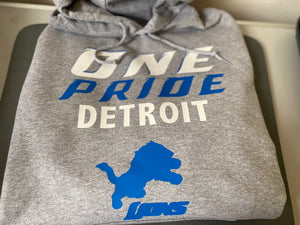 "CUSTOM NFL TEAM ""FOOTBALL"" HOODIE"