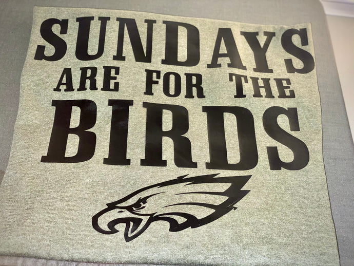 Sunday Are For the Birds Tee
