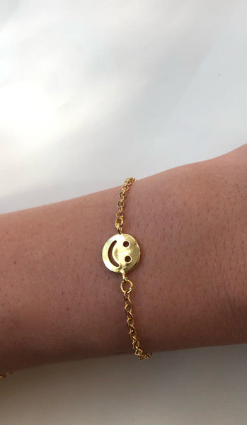 Smiley Face Bracelet