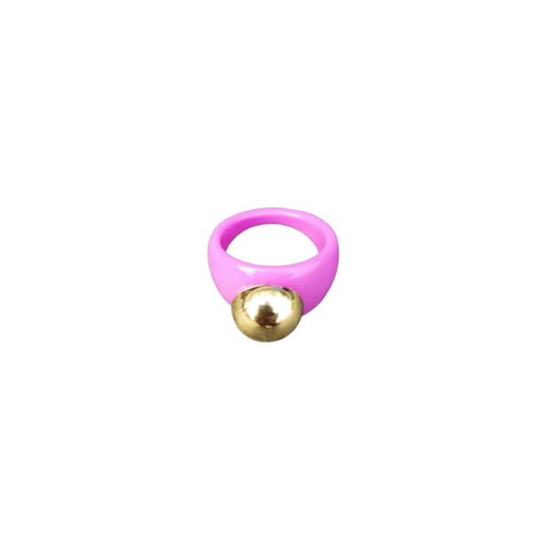 Pink Cyber Ring