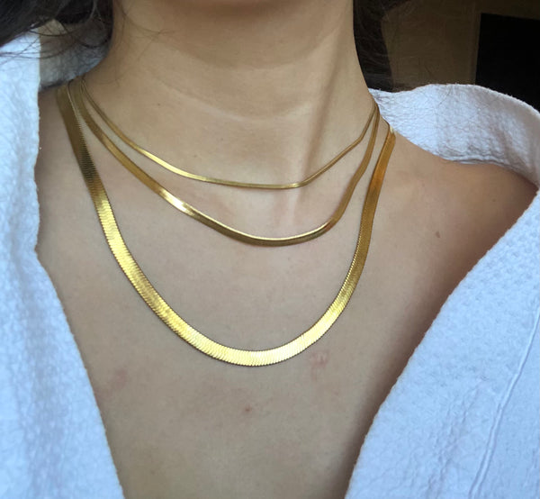Charlie Thin Chain Necklace