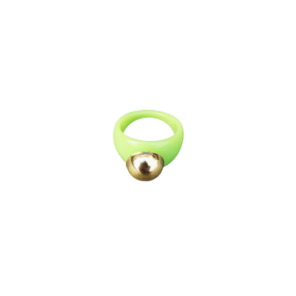 Lime Cyber Ring
