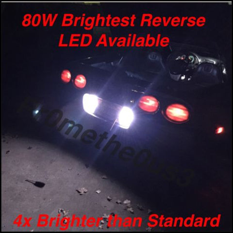 1997-2004 c5 Corvette 80w BRIGHTEST AVAILABLE Reverse Light LED Upgrade