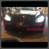 2005-2013 C6 Corvette Switchback (White & Amber) LED DRL bulbs (FREE Resistors)