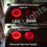 2005-2013 C6 Corvette Tail Light LED's (MUCH BRIGHTER)
