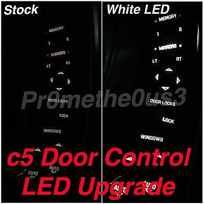 1997-2004 c5 Corvette Door Control/Switch LED's