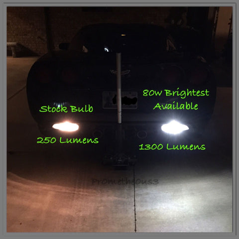 2005-2013 C6 Corvette LED Reverse Lights - BRIGHTEST AVAILABLE!!