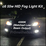 2005-2013 C6 Corvette 55W HID Fog Light Conversion Kit