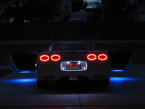1997-2004 C5 Corvette LED Halo Tail Lights
