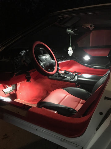1984-1996 C4 Corvette Interior LED Kit