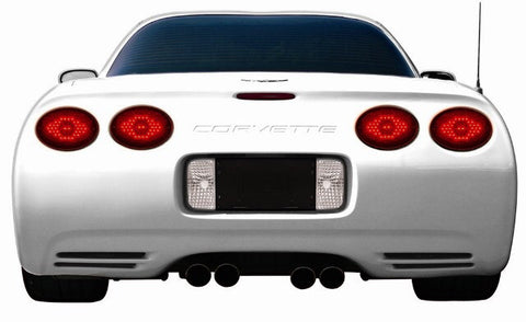 1997-2004 C5 Corvette Red Max LED Tail Lights