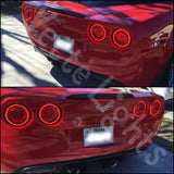 2005-2013 C6 Corvette Oracle Tail Light Halo Rings