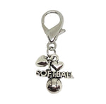 Softball Zipper Pull - Softball Accessories