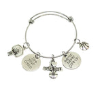 Basketball Charm Bracelet - Live Your Dream