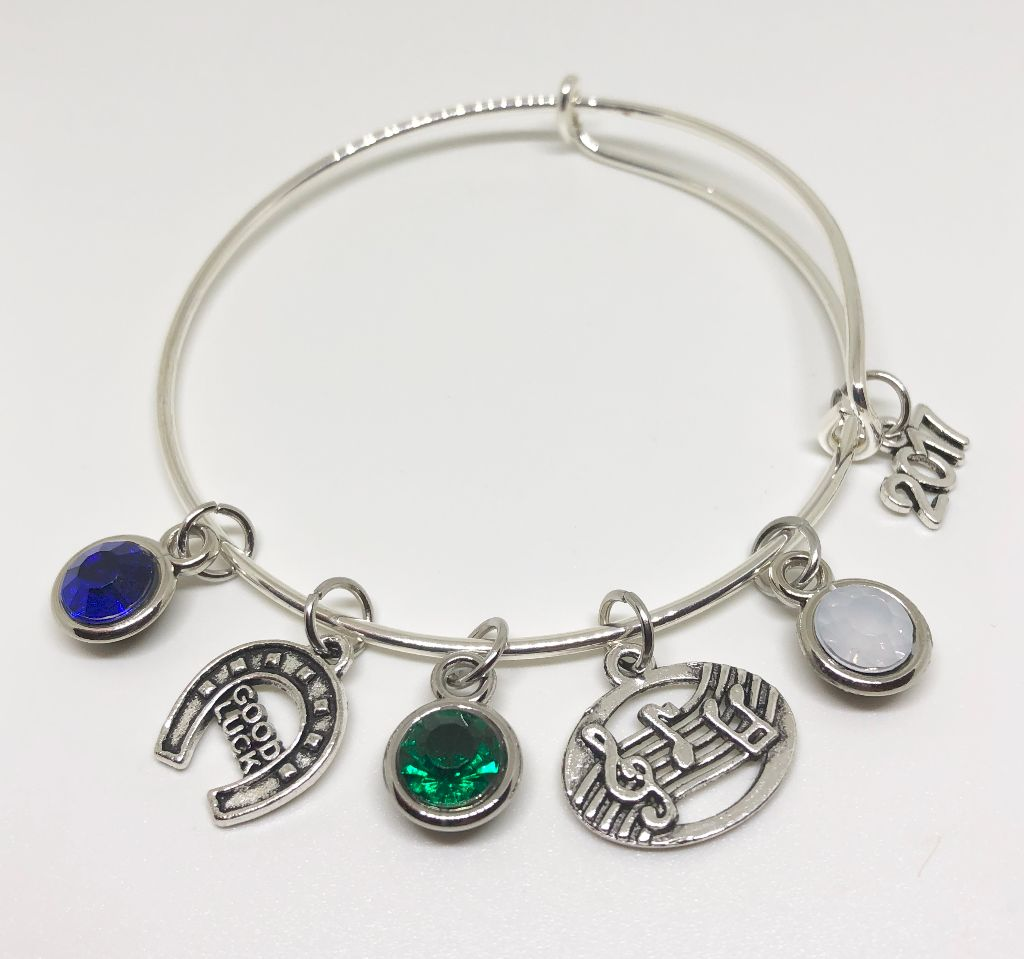Coral Springs High - School Charm Bracelet - BAND / MUSIC / CHORUS