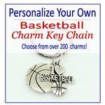 Create Your Own Basketball Charm Key Chain, Gymnastics Accessories