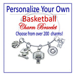 Create Your Own Basketball Charm Bracelet - Cheer and Dance On Demand