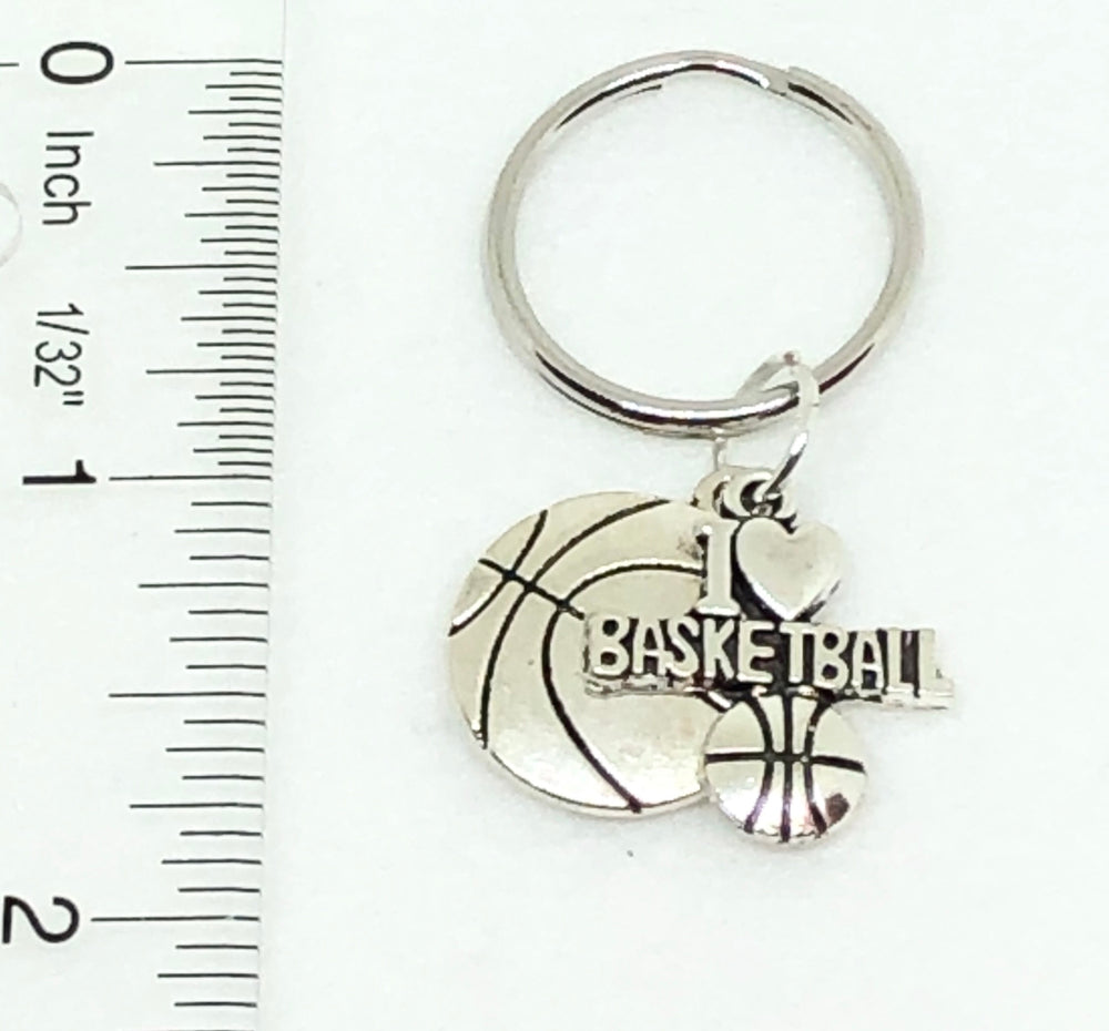 Basketball Keychain - Basketball Accessories - Cheer and Dance On Demand