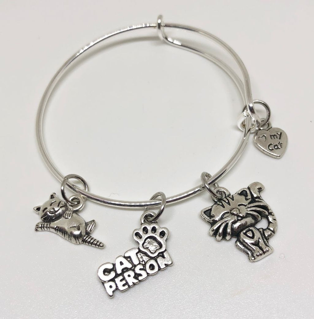 Kitten Charm Bracelet - Happy Cats