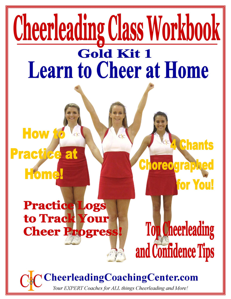 Learn to Cheer at Home Cheerleading Program - GOLD Program - Cheer and Dance On Demand