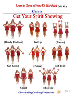 Learn to Cheer at Home Cheerleading Program - PLATINUM Program - Cheer and Dance On Demand